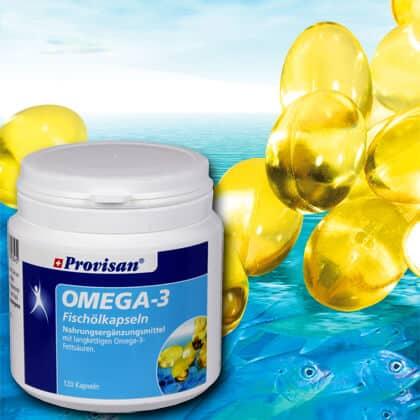 Provisan Omega-3-Fischölkapseln